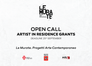 OPEN CALL PER ARTISTI RESIDENTI IN TOSCANA e OPEN CALL INTERNAZIONALE PER RESIDENZE D'ARTISTA