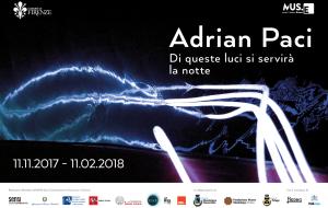 """Adrian Paci a Firenze """"Di queste luci si servirà la notte"""""""