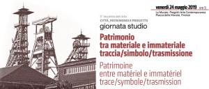 Patrimonio tra materiale e immateriale traccia / simbolo / trasmissione