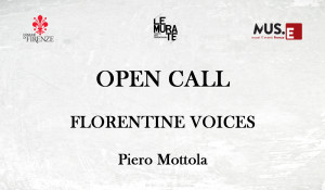 OPEN CALL  Florentine Voices